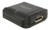 DELOCK Displayport 1.2 Repeater, 4K at 60 Hz, 7.1 sound, black