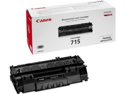 CANON CRG-715 cartridge black LBP3310 LBP3370 3.000pages (1975B002)