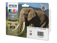 Ink Cart/24s Elephant Multi 6clrs RS