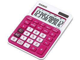 CASIO CALCULATOR CASIO MS-20NC-RD DESKTOP RED (MS-20NC-RD)