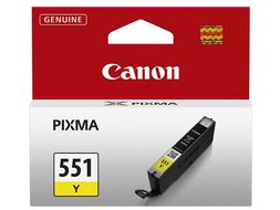 CANON CLI-551 Y YELLOW INK TANK SUPL (6511B001)