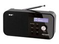 JENSEN Radio JENSEN FOX100 DAB+ sort