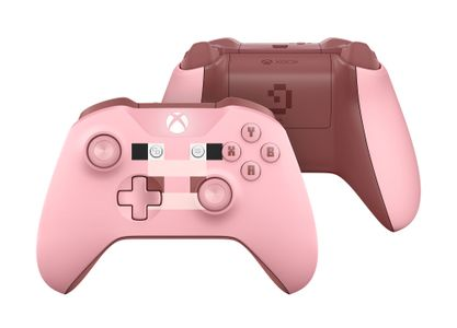MICROSOFT Xbox One Controller Minecraft Pig Ed. for Xbox One, One S, One X (WL3-00053)