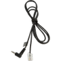 JABRA RJ10 Cord to 2.5mm pin plug 1.0 meter for Panasonic KX-T 7630 7633 7635 and e.g. GN9300 GN9120 GN Ellipse GN8000