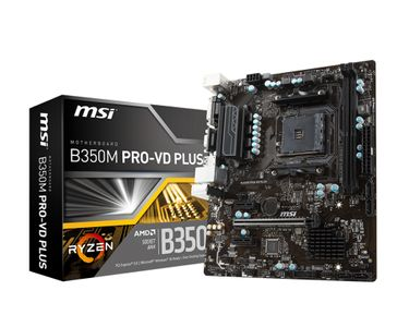 MSI B350M PRO-VD PLUS                                  IN CPNT (7B38-004R)