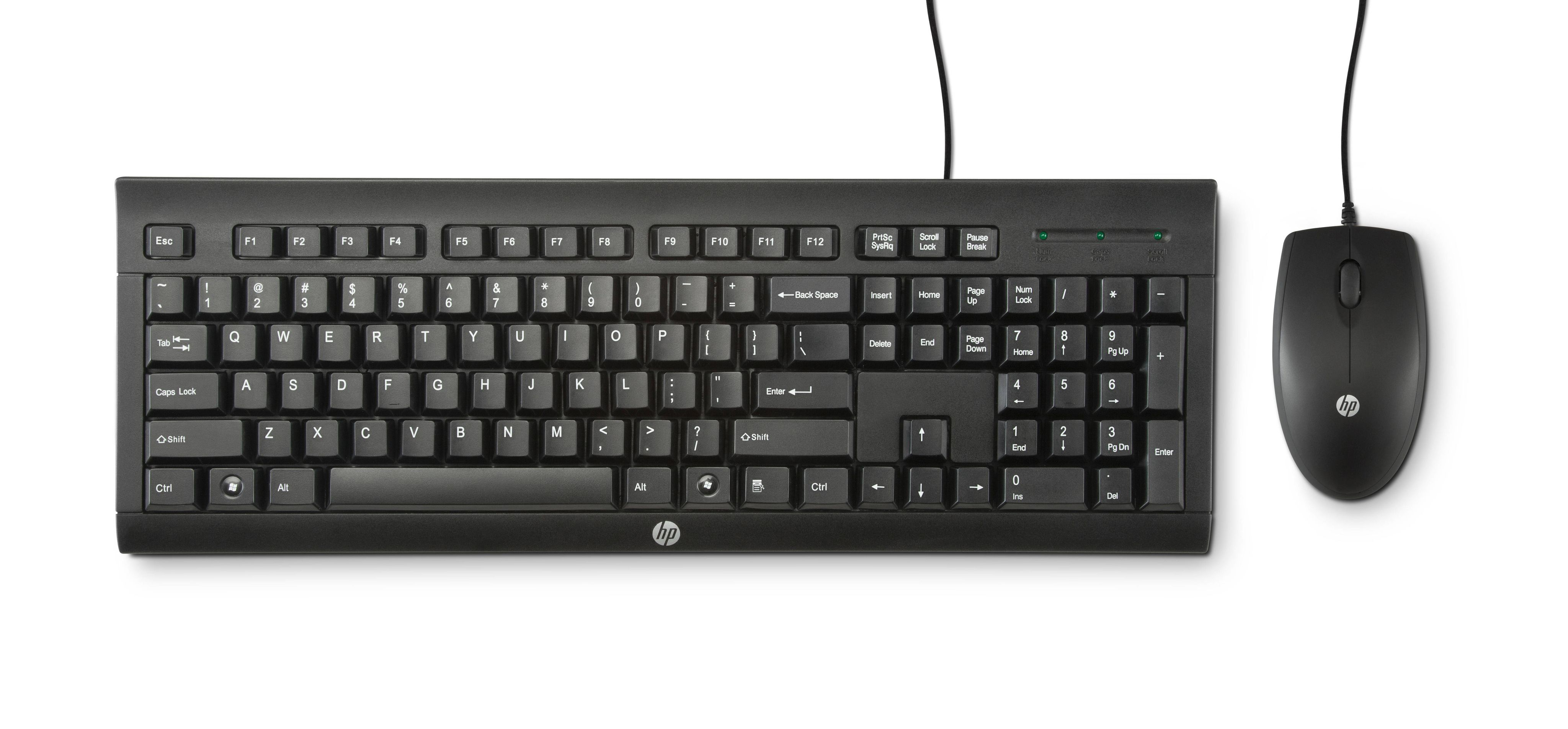 HP Keyboard/mouse combo Spanish (H3C53AA#ABE)