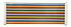 RASPBERRY PI Pi ribbon cable, bulk, rainbow colors