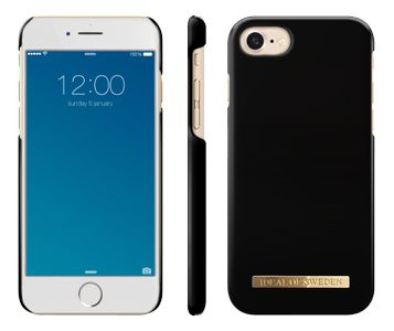 iDEAL OF SWEDEN FASHION CASE IPHONE 7 MATTE BLACK (IDFCA16-I7-28)
