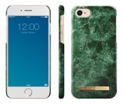 iDEAL OF SWEDEN Fashion Case Green Marble, for iPhone 7 plus, magnetic, green (IDFCA16-I7-36)