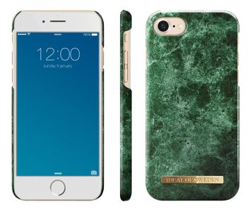 iDEAL OF SWEDEN IDEAL FASHION CASE IPHONE 7 GREEN MARBLE (IDFCA16-I7-36)