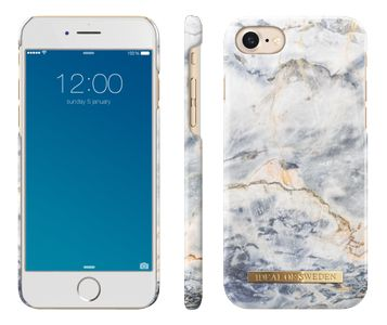 iDEAL OF SWEDEN FASHION CASE IPHONE 7 WHITE/ GREY MARBLE (IDFCA16-I7-47)