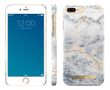 iDEAL OF SWEDEN Fashion Case Ocean Marble, for iPhone 7 plus, magnetic, blue/whi