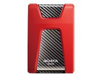 A-DATA External HDD Adata Durable HD650 2.5inch 1TB USB3 Red, Rugged (AHD650-1TU31-CRD)