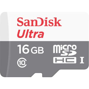 SANDISK Ultra Android microSDHC 16GB 80MB/s Class 10 (SDSQUNS-016G-GN3MN)