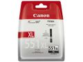 CANON CLI-551XL BK BLACK XL INK CARTRIDGE SUPL