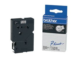 BROTHER P-Touch Tape Black On Clear 12mm  (TC-101)