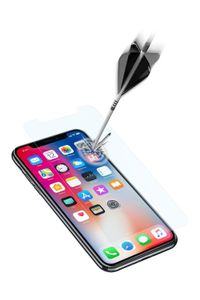 CELLULAR LINE TEMPERED GLASS ULTRA IPHONE X (TEMPGLASSIPH8)