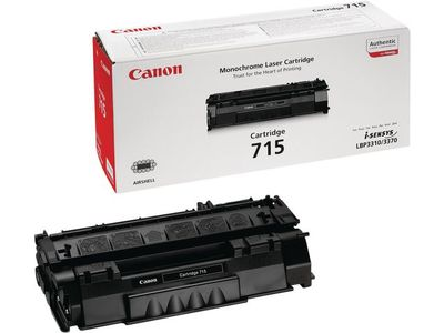 CANON CRG 715H toner cartridge black low capacity 7.000 pages 1-pack (1976B002)