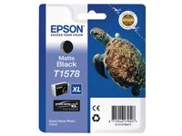 EPSON T157 Matte Black Cartridge - Retail Pack Stylus Photo R3000 (C13T15784010)