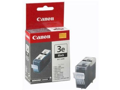 CANON BCI-3E BLK TWINPACK BLISTER BLACK INK CARTRIDGE (4479A298)