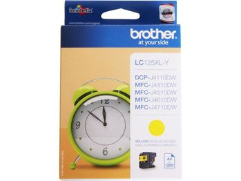 BROTHER LC127XLY yellow ink (LC125XLY)