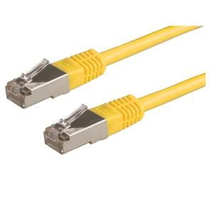 VALUE S/FTP PatchCord Cat6. yellow. 1m  Factory Sealed (21991332)