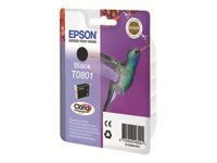 EPSON T0801 Black Ink Cartridge   P50/ PX650/ PX700W/ 710W/ PX800FW/ 810FW (C13T08014011)