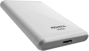 A-DATA Adata HDD HV100 2TB White  (AHV100-2TU3-CWH)