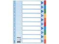 ESSELTE Divider A4 10 tabs multicolour