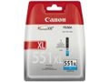 CANON CLI-551XL C CYAN XL INK CARTRIDGE SUPL