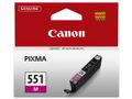 CANON CLI-551M ink cartridge magenta standard capacity 330 pages 1-pack