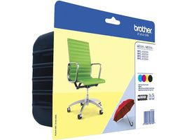 BROTHER FP Brother LC225XL_LC229XL Value pack_ (1200x3 _ 2400x1 sid_) (LC229XLVALBPDR)