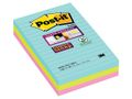 POST-IT POST-IT Sup Stic Miami linj 101x152 3/FP