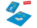 STAPLES Laminat STAPLES 54x86mm kl 125mic 100/pk