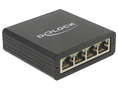 DELOCK Adapter USB 3.0 to 4x Gigabit LAN