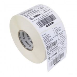 ZEBRA LABEL, PAPER, 102X203MM,  DIRECT THERMAL, Z-PERFORM 1000D, UNCOATED, PERMANENT ADHESIVE, 25MM CORE (3012884-T)