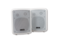 STOLTZEN 2 x 30W Active Speaker White 5'' Element, ink monteringsbrakett,  V2.0