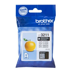 BROTHER Ink LC-3211BK Black (LC3211BK)