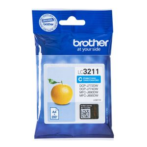 BROTHER Ink LC-3211C Cyan (LC3211C)