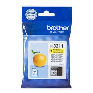 BROTHER Ink LC-3211Y Yellow (LC3211Y)