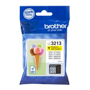BROTHER Ink LC-3213Y Yellow 400S, DCP-J77x, MFC-J89x (LC3213Y)