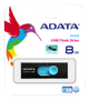 A-DATA ADATA UV220 8GB Black/ Blue USB 2.0