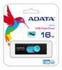 A-DATA ADATA UV220 16GB Black/ Blue USB 2.0 (AUV220-16G-RBKBL)
