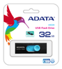 A-DATA ADATA UV220 32GB Black/ Blue USB 2.0 (AUV220-32G-RBKBL)