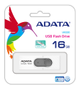 A-DATA UV220 16GB White/ Gray USB 2.0