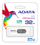 A-DATA UV220 32GB White/ Gray USB 2.0