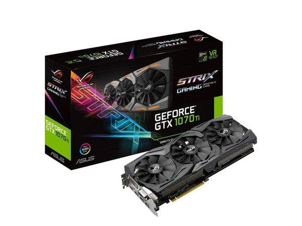 ASUS ROG GeForce 1070 Ti Strix Gaming 8GB (ROG-STRIX-GTX1070TI-8G-GAMING)