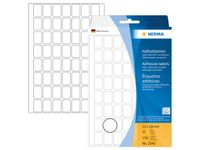 multi-purpose labels, white, 12 x 18 mm, (1792)