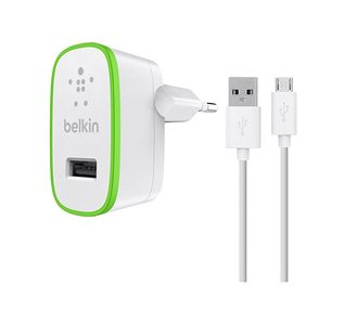 BELKIN Home Charger with Micro USB Cable (F8M886vf04-WHT)