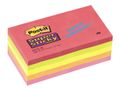 POST-IT Notes Post-it 655S-N Super Sticky 76x127mm Neon Ass. Pk/5